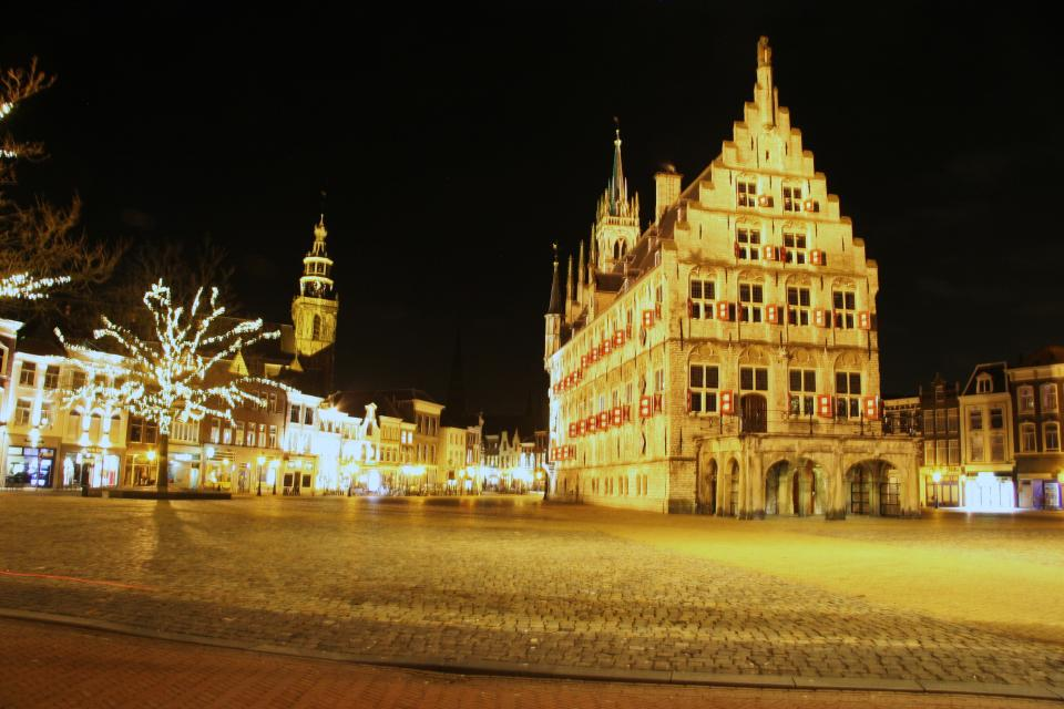 The Town centre in Gouda - Stadhuis