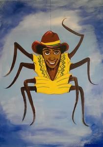 Artwork of Anancy the spider man