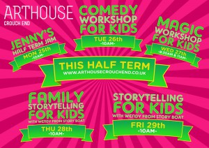 Wendy Shearer storytelling at Art House Crouch End 28th & 28th May