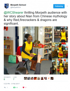 Chinese New Year Storytelling with Wendy Shearer