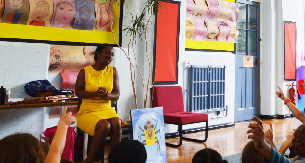 Storytelling at Campsbourne School