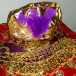 Sultan's hat for Arabian Nights storytelling