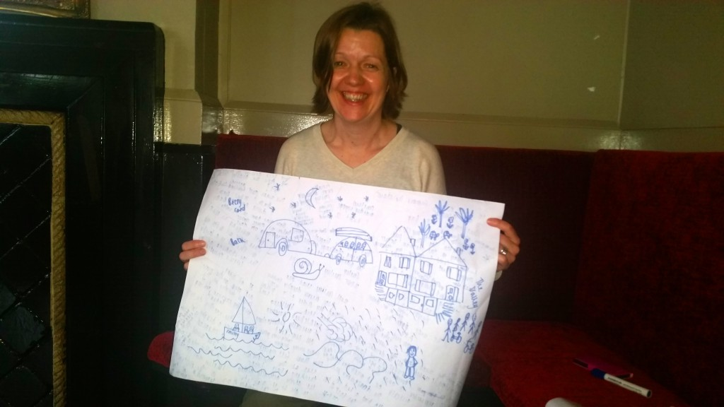 Hannah's storymap of her childhood family holidays