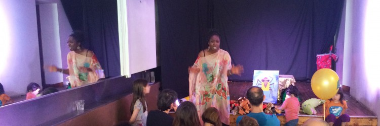 Wendy Shearer storytelling for Crouch End Festival - Guyanese folklore