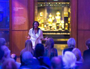 Storytellig at the British Museum - Wendy Shearer