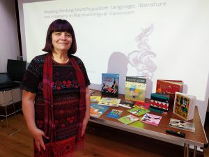 Ann Lazim - LIterature and Library Development Manager - Multilingual Creativity