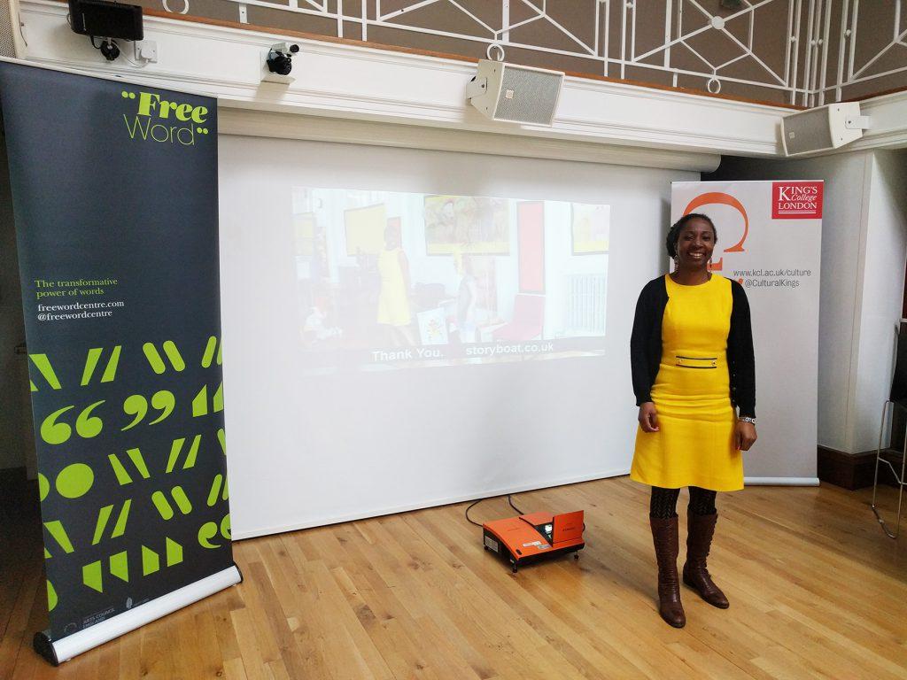 Wendy Shearer Professional Storyteller - Multilingual Creativity event