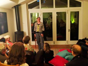 Storyteller Eileen Egerton