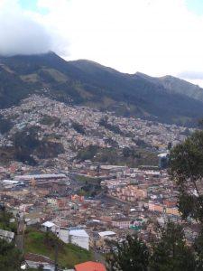 Wendy Shearer visiting Quito, Ecuador