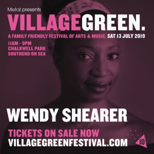 Wendy Shearer performing at The Village Green Festival
