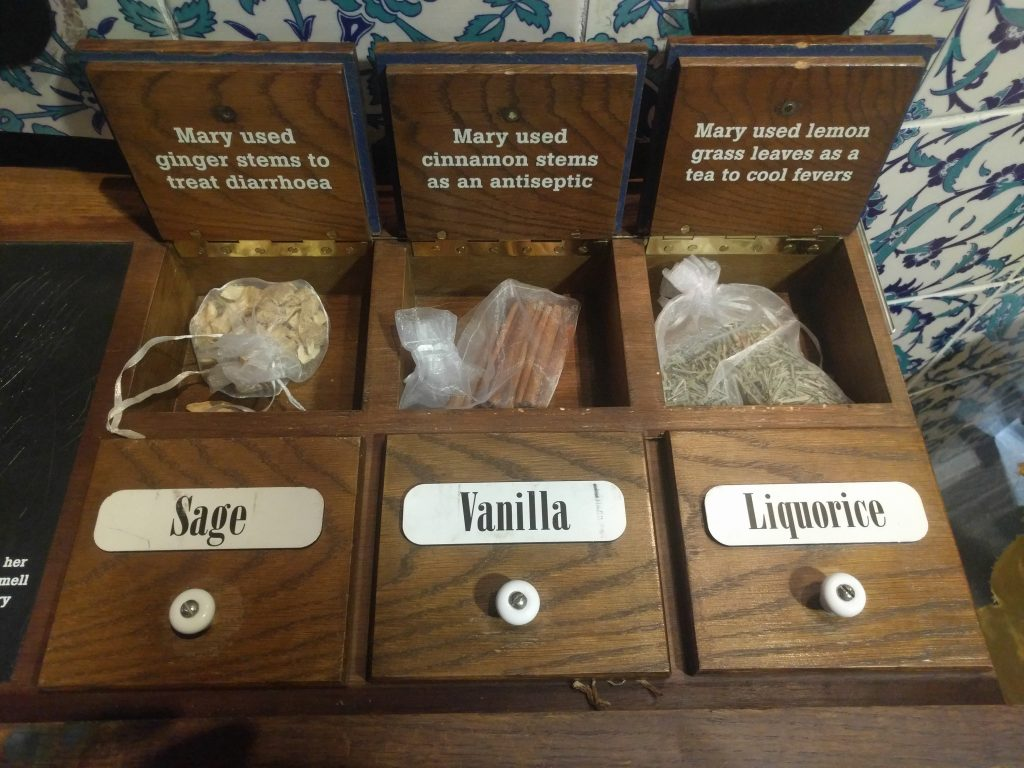 Spices used by Mary Seacole